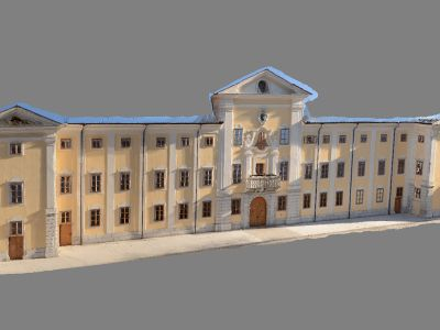 3D model fasade - Textured 3D facade model